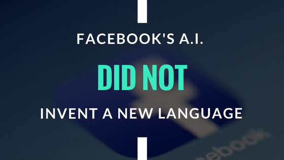 Facebook ai new language
